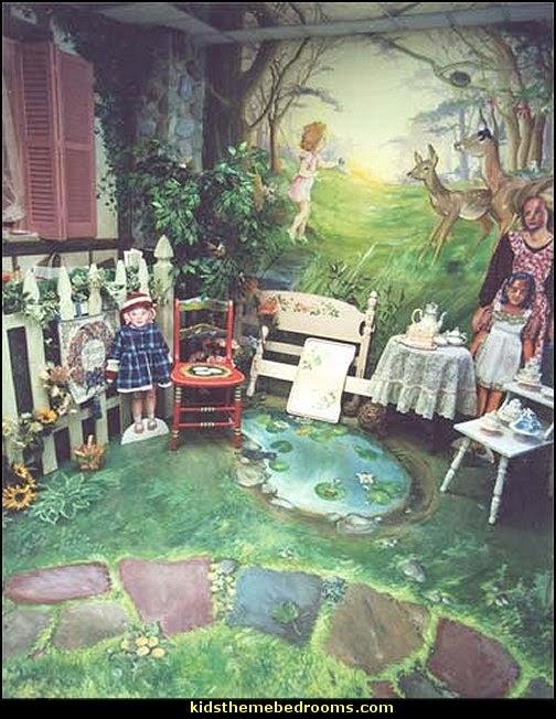 Forest Theme Bedrooms Woodland Bedroom Fairies Decor Fairy Room