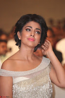 Shriya Saran in Stunning White Off Shoulder Gown at Nakshatram music launch ~  Exclusive (79).JPG