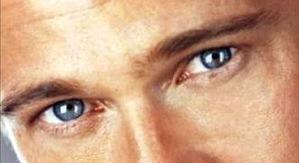 Imagen de los ojos de un hombre guapo