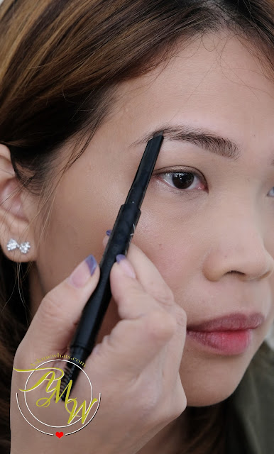 a photo of Clio Kill Brow Auto Hard Brow Pencil Natural Brown Review by AskMeWhats Nikki Tiu