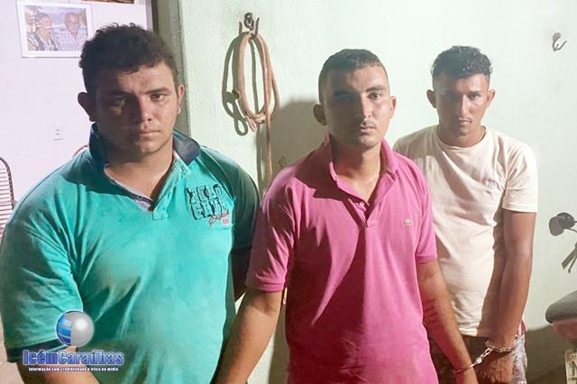 Assaltantes são presos em flagrante tentando furtar animais na zona rural de Campo Grande; veja vídeo