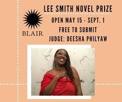 Lee Smith Novel Prize 2021
