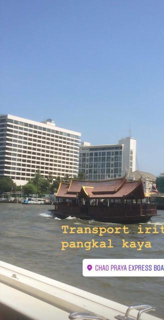 Chao Phraya Boat Thailand
