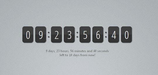 Making a jQuery Countdown Timer