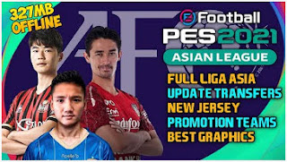 Download FTS MOD PES 2021 Asian League Edition Full Transfer &  Best Graphics Jersey HD