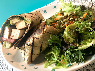 Grilled Tofu Wrap! Brown Rice Pudding! And More!