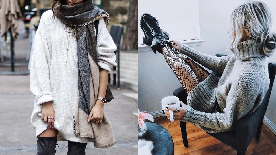 moda-pulover-haljine-odjeća-žene-fashion