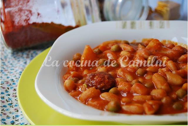 Potaje de habichuelas (La cocina de Camilni)