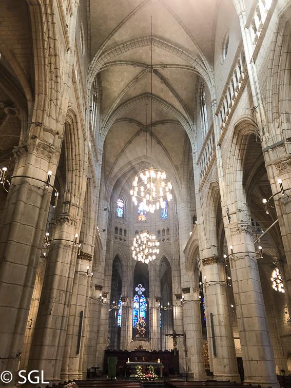 Catedral de Vitoria, Santa Maria. Abierto por obras