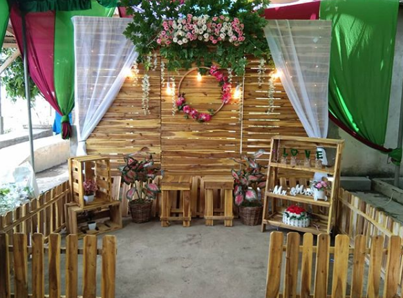 Backdrop Photobooth Pernikahan Terbaru