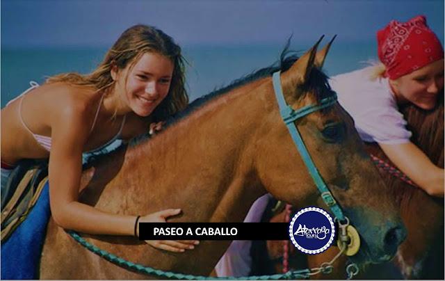 imagen paseo a caballo por la isla de margarita