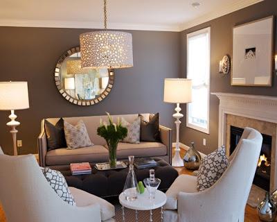c mo decorar salas peque as salas y comedores ideas. Black Bedroom Furniture Sets. Home Design Ideas