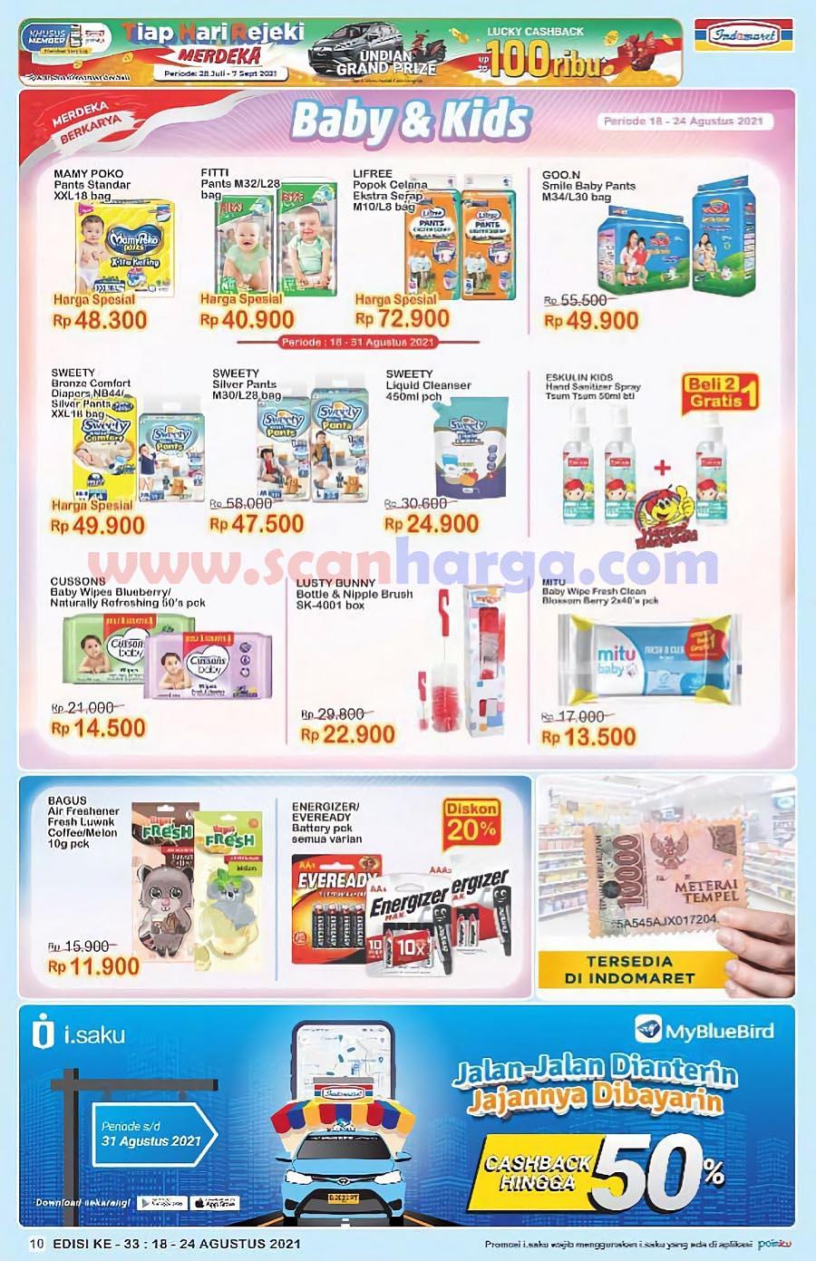 Katalog Indomaret Promo Terbaru 18 - 24 Agustus 2021 10
