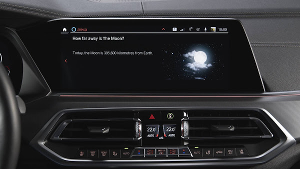 Brasil incluído na atualização do BMW OS 7 que integra o Alexa