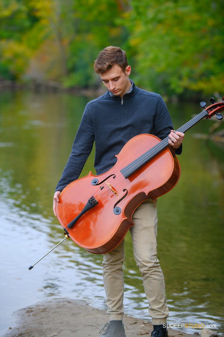 Pioneer High School Guys Senior Pictures in Music Theme  SudeepStudio.com Ann Arbor Senior Portrait Photographer
