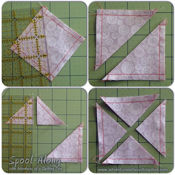 Spool Quilt Block Tutorials