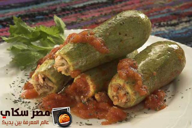 محشو الكوسا بالنكهة الشامية وخطوات التحضيرSquash