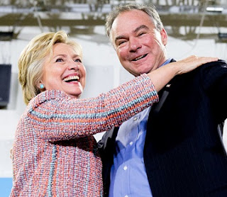 Tim Kaine Emerges Clinton's Running Mate