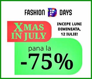 recomandari xmas fashion days reduceri si promotii