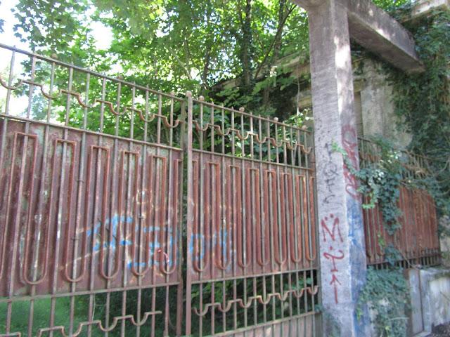 Cancello Polveriera di Taino