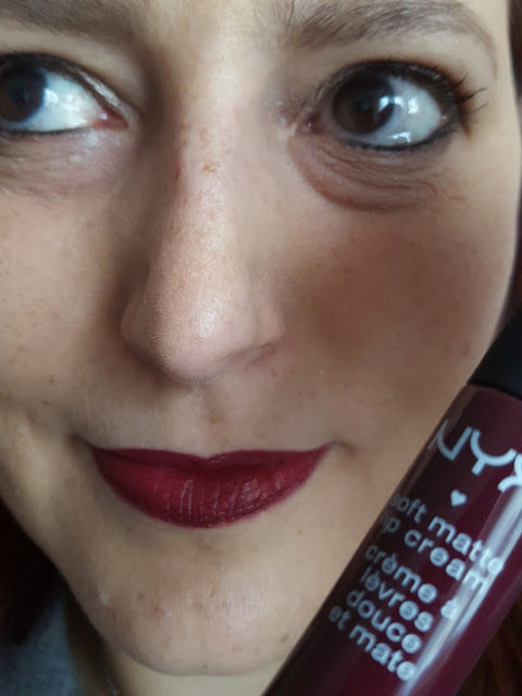 Soft Matte Lip Cream Nyx - Copenhagen