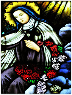 Virgem Maria - Vitral da Igreja de Nossa Senhora dos Navegantes, Porto Alegre