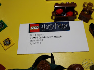 LEGO 2018 Sets Harry Potter 75956 Quidditch Match