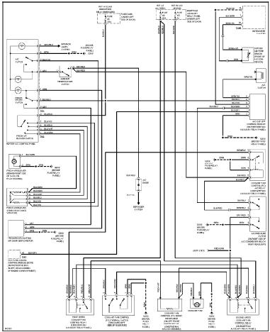 repairmanuals: Volkswagen Passat 2001 Wiring Diagrams