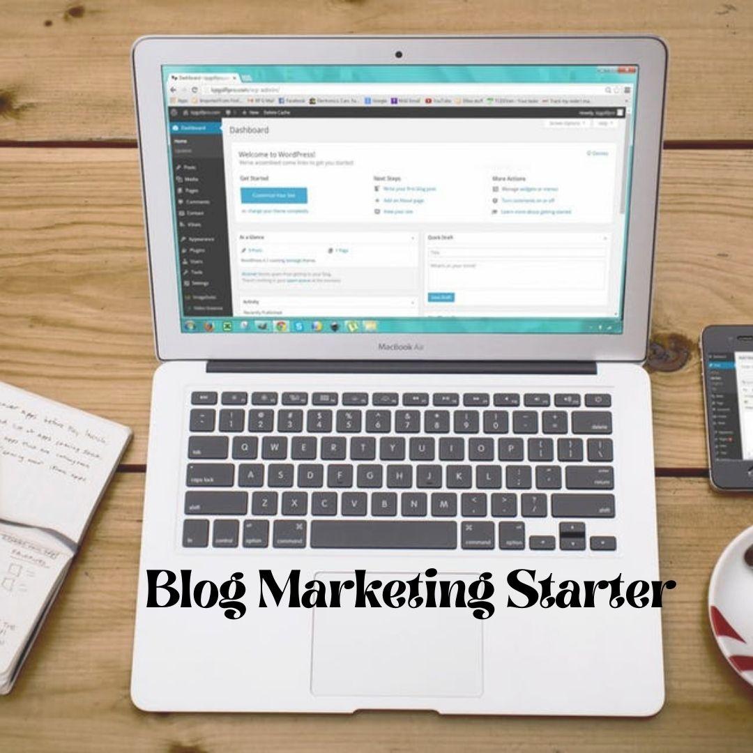 Blog Marketing Starter - Prosper Affiliate Marketing