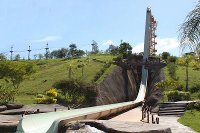 Segundo toboágua mais alto do mundo