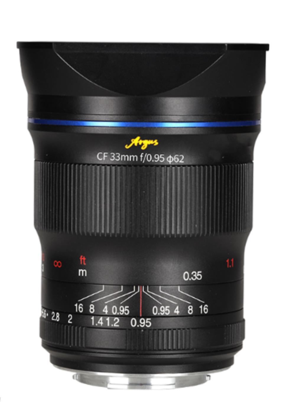 Laowa 33mm f/0.95