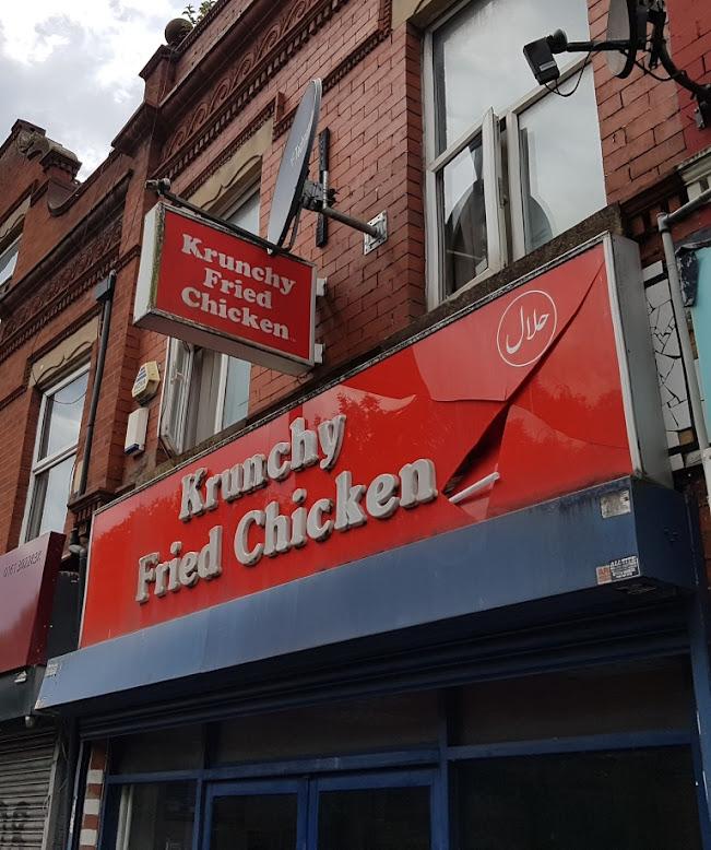 Krunchy Fried Chicken in Fallowfield, Manchester