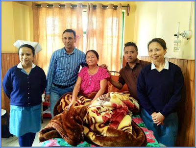 10 kg tumour extract from Manmati gurung of Ging tea Estate