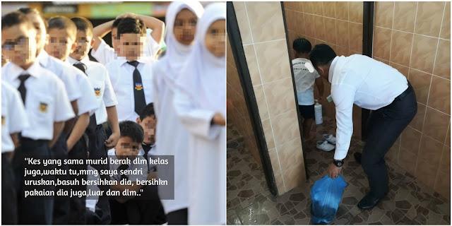 """""""Budak berak dalam seluar, cikgu jugak yang basuh"""" - Kalau tak banyak pun hargai sikit kami sebagai guru jadilah"""