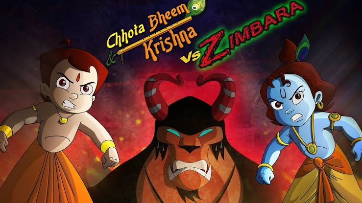 Chhota Bheem Aur Krishna Vs Zimbara Full Movie Images In 720P