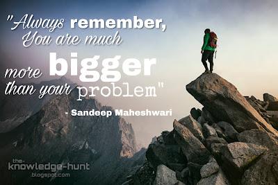 Sandeep Maheshwari Motivational Sayings and Quotes | The Knowledge Hunt