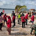 Mahasiswa KKN Universitas Negeri Makassar Di Selayar Lakukan Aksi Peduli Lingkungan