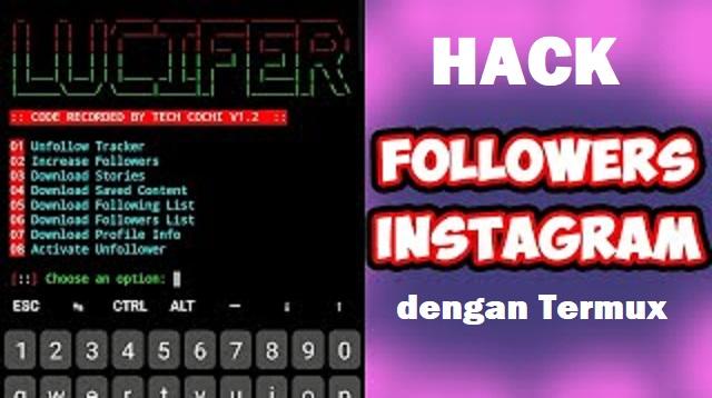 Hack Followers IG dengan Termux