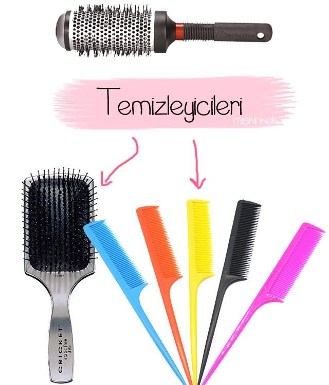 Saç Fırçaları Tarakları Nasıl Temizlenir