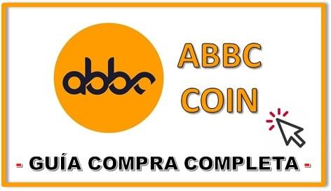 Cómo y Dónde Comprar Criptomoneda ABBC COIN (ABBC)