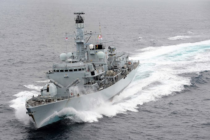 Royal Navy intercepts Iranian boats as they attempt to seize British Tanker