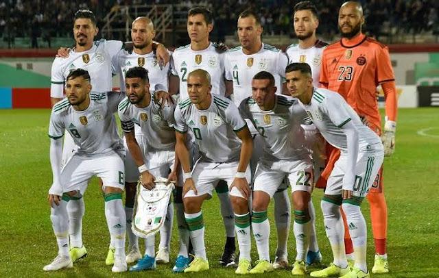 تشكيل الجزائر ضد بتسوانا عبر سوفت سلاش