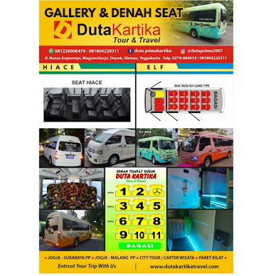 Travel Jogja Surabaya Terbaru 2021 WA/Telp 081804220311