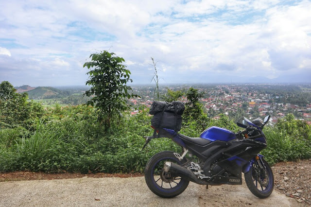 Kota Payakumbuh Dilihat Dari Puncak Ngalau Indah