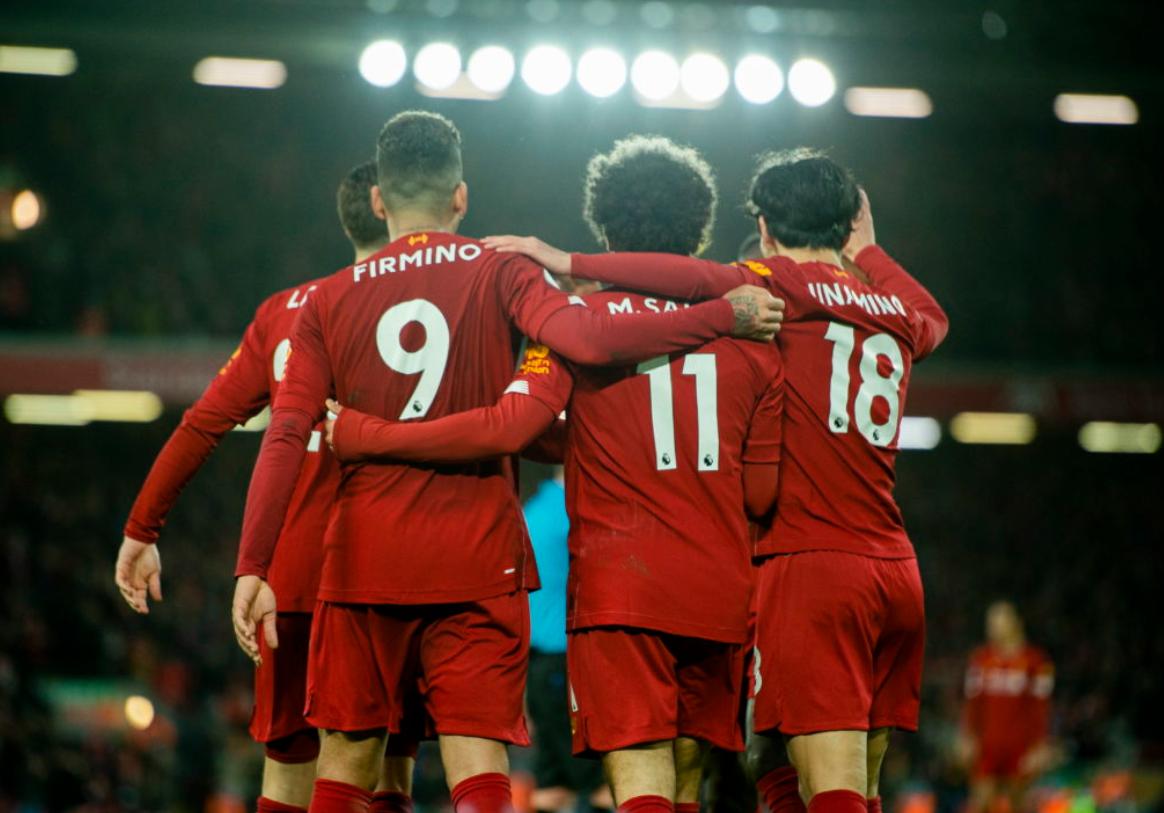 The inevitable 2019/20 PL Champions: Liverpool
