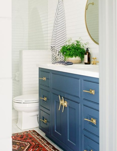 Nautical Boat Cleats As Hardware, Bathroom Drawer Pulls