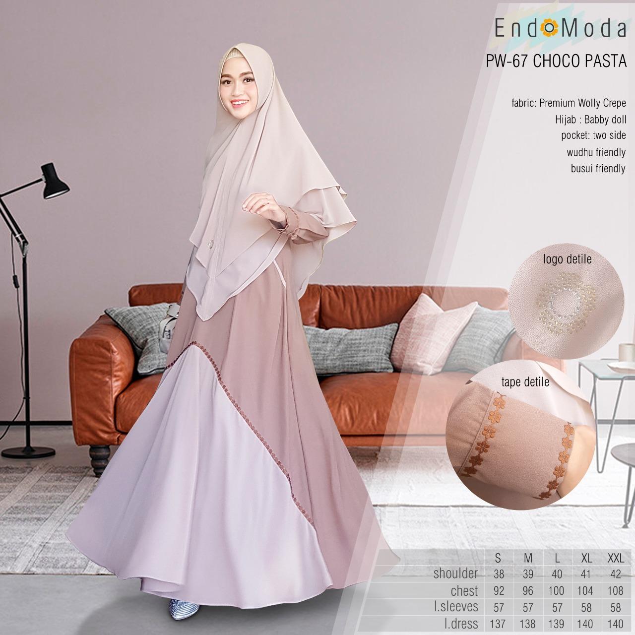 Model Gamis Endomoda Terbaru 2019 Inspirasi