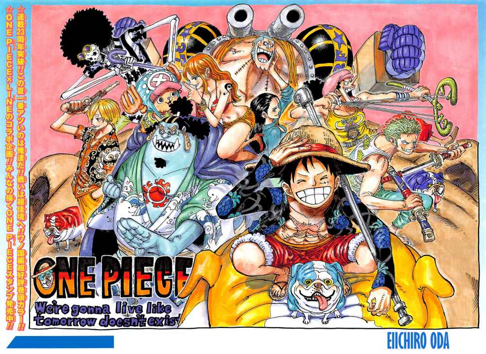 One Piece Manga Chapter 987 - Image 002