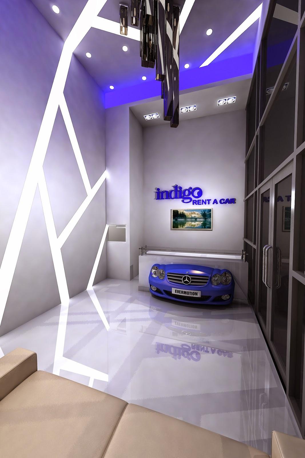 Gurooji Design Indigo Rent A Car Office Design