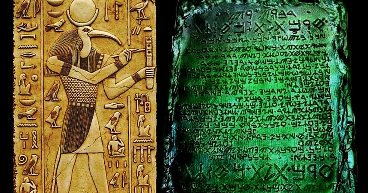 Image result for thoth emerald tablet